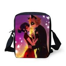 FORUDESIGNS/мультфильм дети сумка через плечо аниме Чудесное Божья коровка Студенческая школьная сумка для мальчиков и девочек маленький дорожный телефон Сумки