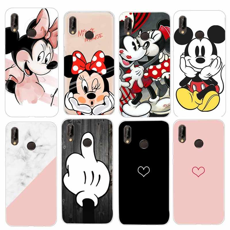 TPU voor Huawei Mate 10 20 Lite Pro P20 P8 P9 P10 Lite 2017 Mini P Smart 2019 Cover Voor huawei Honor 7A Pro Case Coque Fundas