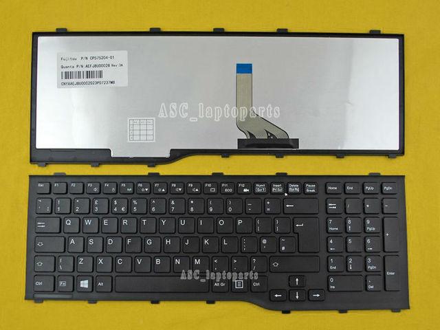 Nuevo Reino Unido inglés teclado para Fujitsu lifebook ah532 a532 ...