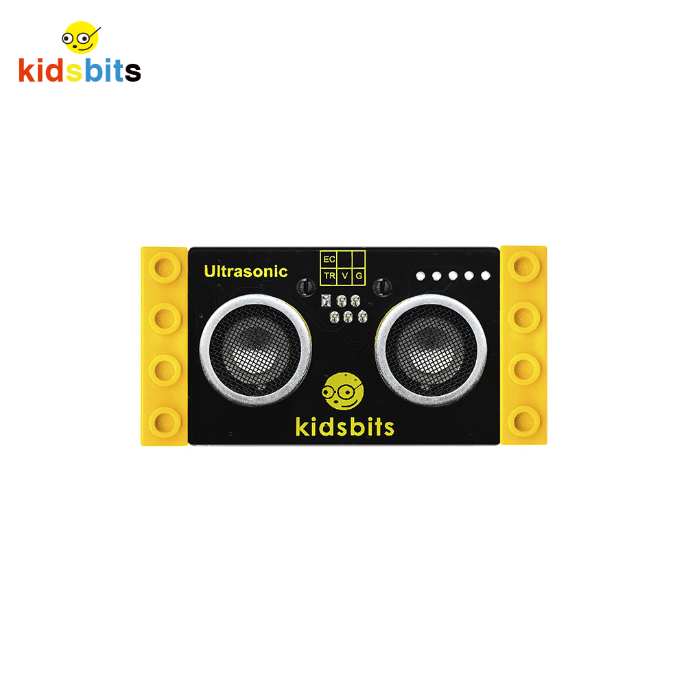 Kidsbits Blocks Coding Ultrasonic Sensor Module  For Arduino STEM