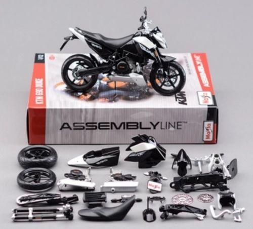 Maisto 1:12 KTM 690 Duke 3 39181 Assembly DIY MOTORCYCLE BIKE Model Kit FREE SHIPPING
