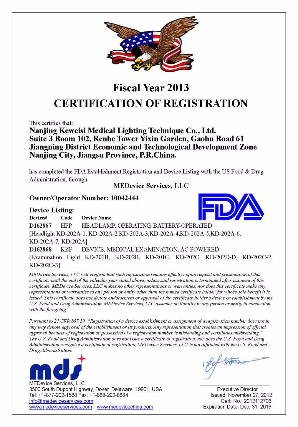 5W 80000lx LED Surgical Headlight High-power Medical Dental Head Lamp FDA NQA KD-202A-6