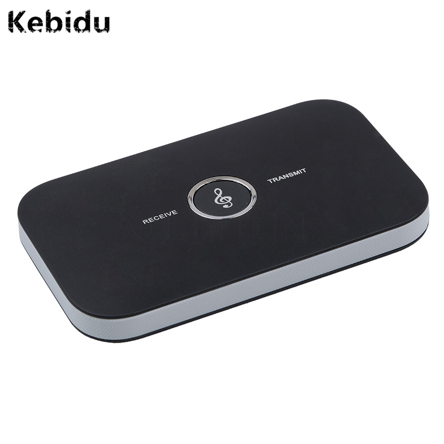 Kebidu 2 In 1 Bluetooth 4.1 Audio Transmitter Receiver Hifi Wireless A2DP Aux 3.5mm Music Sound