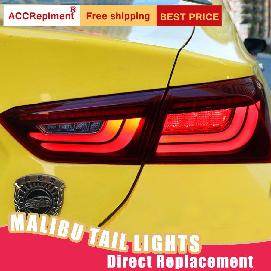 Car Styling LED Tail Lamp for Chevrolet Malibu Tail Lights 16 19 for Malibu Rear Light