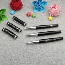 Unique Personalized classical pen custom FREE with any logo text nice sales promotion gift for customers and managers