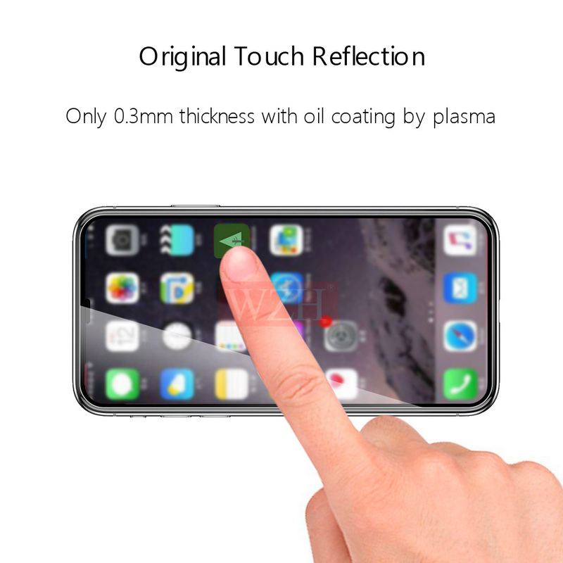 Image 2 - Full Cover Tempered Glass For iPhone XS XR Screen Protector iPhone XS Max Glass On iPhone 6 6s 7 8 Plus X 5 5S Protective Glass-in Phone Screen Protectors from Cellphones & Telecommunications