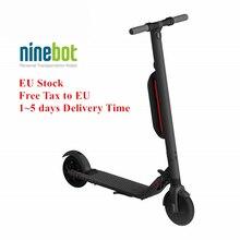 ЕС наличии оригинал Ninebot KickScooter ES4 умный электрический самокат Ховерборд обновления от крепление для спортивной камеры Xiao mi jia mi Pro Ховерборд