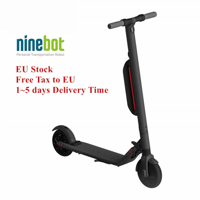 La UE Stock Original Ninebot KickScooter ES4 inteligente eléctrico Scooter hover de actualización de Xiaomi mi jia mi Pro Hoverboard