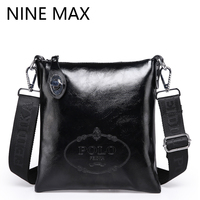 Polo High Quality Crossbody Handbag Handbag Luxury Glossy Leather Business Bags Small Zipper Durable Utility Minimalism