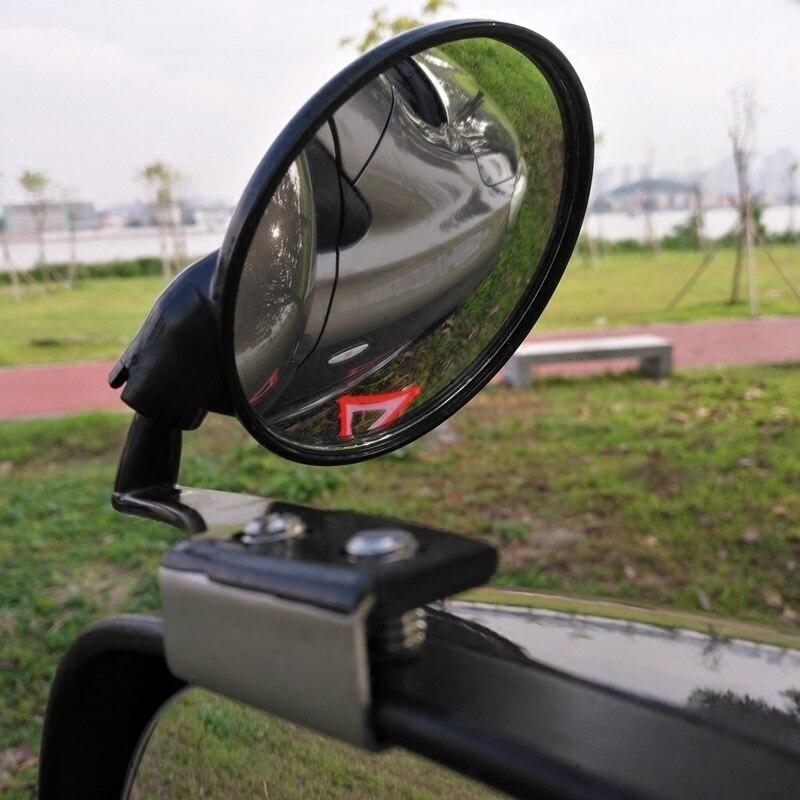 OHANEE 2 pièces/ensemble voiture Angle mort miroir Auto côté convexe miroirs grand Angle rond voiture véhicule vue arrière miroir