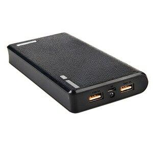 Image 5 - 1 قطعة بنك الطاقة مزدوجة USB 6x18650 بطارية احتياطية خارجية شاحن مربع حالة للهاتف
