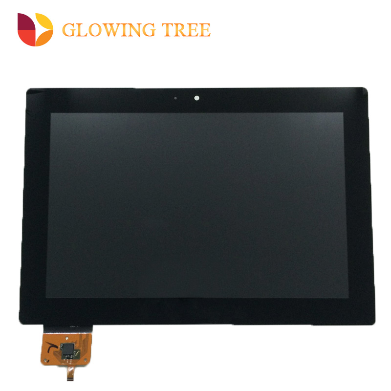 Black 10.1 For Lenovo IdeaTab S6000-H S6000H S6000 Touch Screen Digitizer Sensor Glass + LCD Display Panel Monitor Assembly