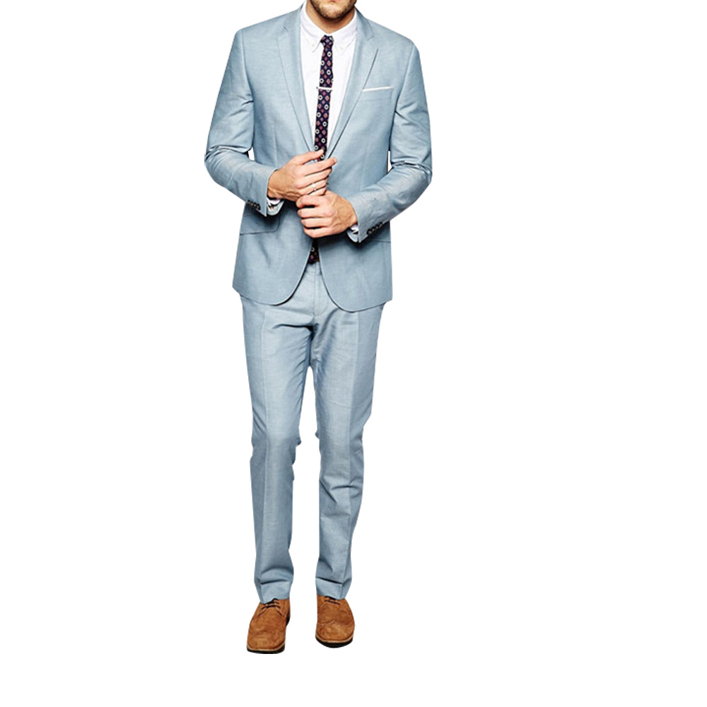 Buy baby blue suit for men and get free shipping on AliExpress.com