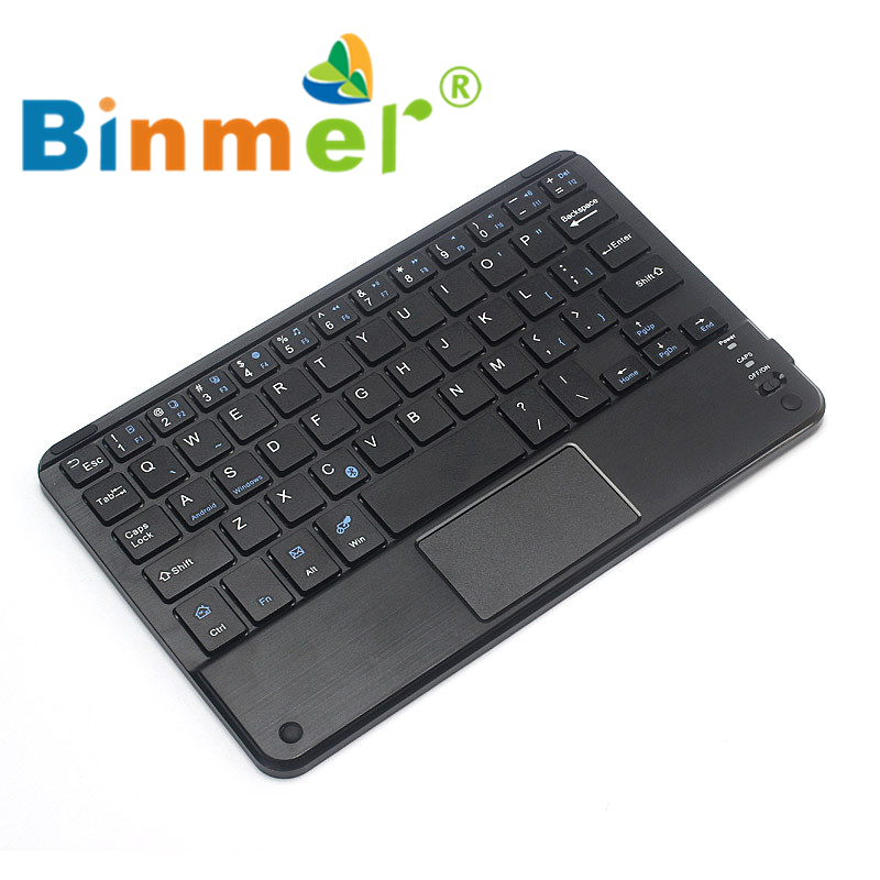 Binmer Bluetooth Wireless Keyboard Touchpad For All 7-10 inch Android Windows Tablet Teclado Wholesale price Dec17