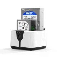 Blueendless 2-Bay SATA hdd docking station SATA to USB 3.0 3.5