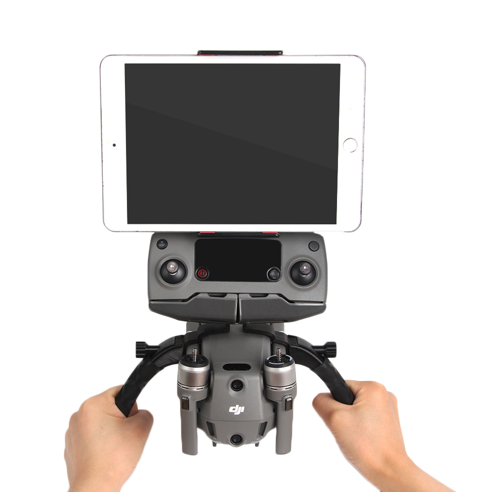 Quick-release Double Handle Handheld Gimbal Portable Tripod Gimbal Stabilizers For DJI MAVIC 2 Pro Zoom Dual Hand Remote Phone