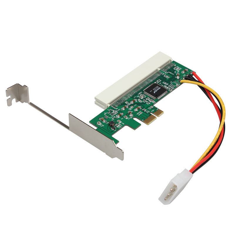 PCI-Express PCIE PCI-E X1 X4 X8 X16 To PCI Bus Riser Card Adapter Converter With Bracket for Windows