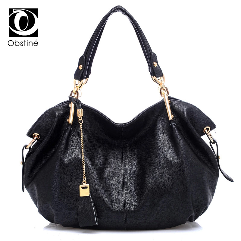 Genuine Leather Womens Handbags Large Shoulder Bags Designer Tote Fashion Female Handbag For Women Soft Real Leather Women Bag chispaulo women genuine leather handbags cowhide patent famous brands designer handbags high quality tote bag bolsa tassel c165