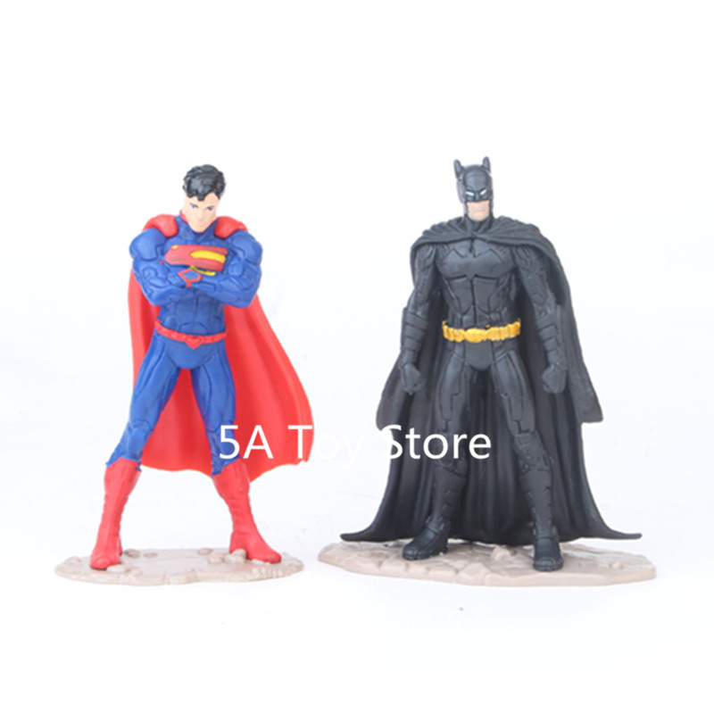 """Crazy Toys DC Comic Superman 7/"""" JUSTICE LEAGUE Action Figure modello Statua Toys"""