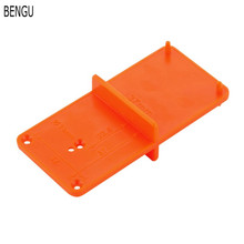 35mm 40mm Hinge Hole Drilling Guide Locator Opener template Door Cabinets DIY Tool For Woodworking tool
