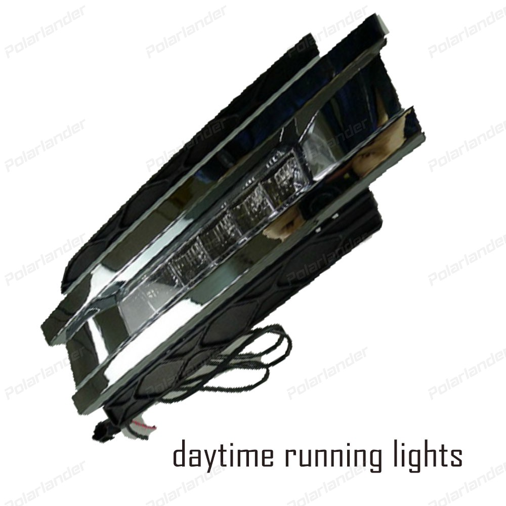 Hot selling Car Accessories LED Bright Daytime Running Light DRL For M/ercedes B/enz GL450 2006-2011