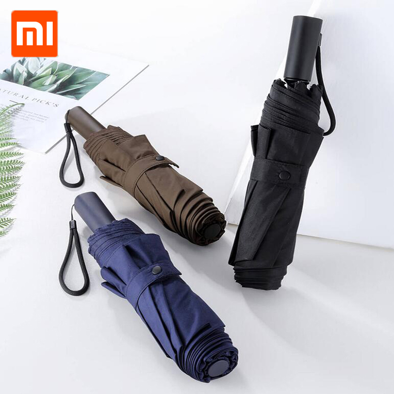 Xiaomi Lsd Umbrella Water Repellent Level 4 Uv Sunscreen Is Strong And Wind Resistant Three Colors Mijia Umbrella A Plastic Case Is Compartmentalized For Safe Storage