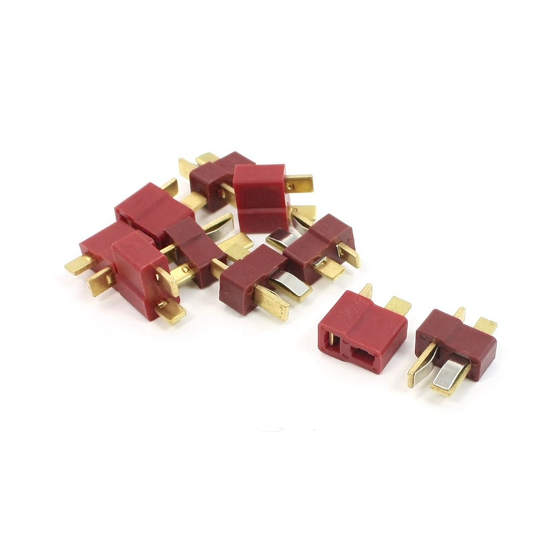 5 Pair Deans Ultra Plug T Male+Female Connector for RC Li-Po Battery Car Plane