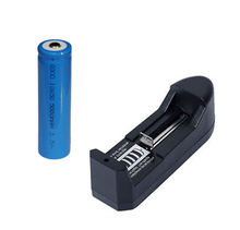 Frete grátis 1 pcs 18650 5000 mah Bateria Recarregável + AAA AA 18650 14500 10440 Bateria Recarregável Carregador Universal