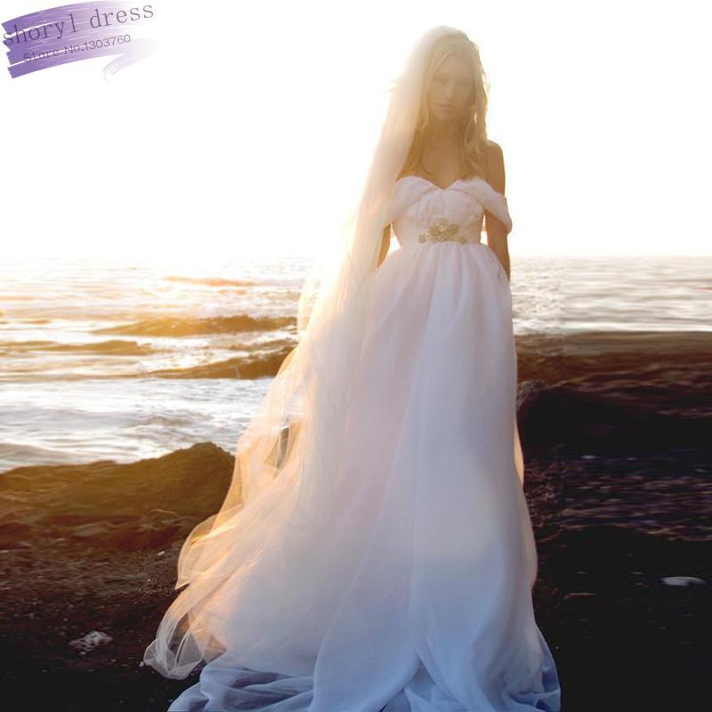 Beach Wedding Dress 2013 Flowing Summer Dresses Greek: Popular Beach Wedding Veil-Buy Cheap Beach Wedding Veil