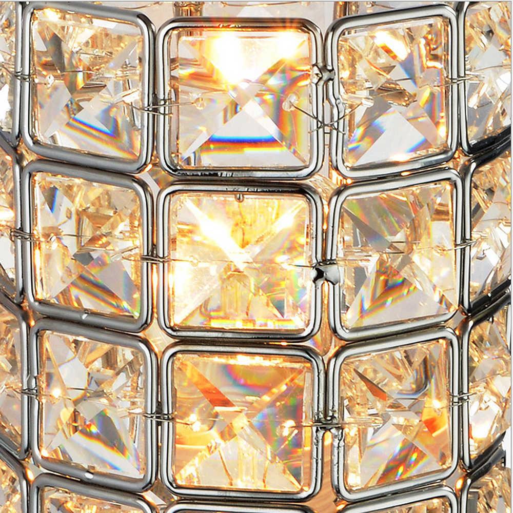 Современный хрустальный Настенный Светильник Бра K9 E27 кровать комната лестницы боковая люстра настенный светильник для домашнего декора светильник