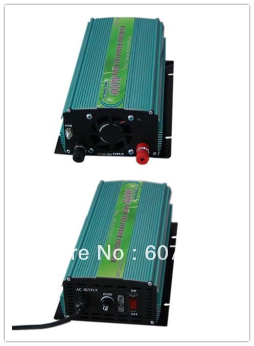 600W GRID TIE INVERTER,28-55v 600W SOLAR PANEL 24V DC battery /220V AC
