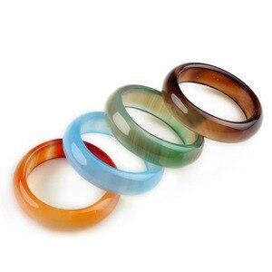 Image 4 - PINKSEE 50 Teile/los Mixed Jahrgang Natürliche Naturstein Ring Für Frauen Unisex Mode Charme Fingerringe Schmuck Geschenke Großhandel