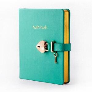 Image 3 - هوش هوش بلدي مذكرات سرية الطبعة الذهبية ، مجلة دفتر مذكرات مع قفل * أفضل بائع