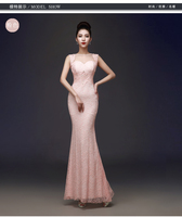 high classic see through back sleeveless sereia vestido de noite cut slide mermaid long evening dresses vestido de festa w610