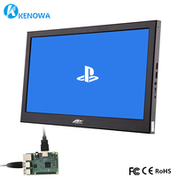 1920X1080 IPS 11.6 Inch Portable Monitor Dual Mini HDMI PS3 PS4 Xbox360 Game Display for Raspberry Pi Windows 7 8 10 USB5V Power