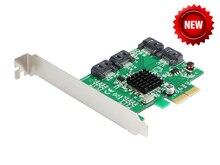 Четырехъядерный SATA III порта рейд PCI китай-e X2 карты HyperDuo 4 разъём(ов) SATA 6 Гб/c 3.0 SSD + HDD PCI Express карта построена RAID0 RAID1 RAID10