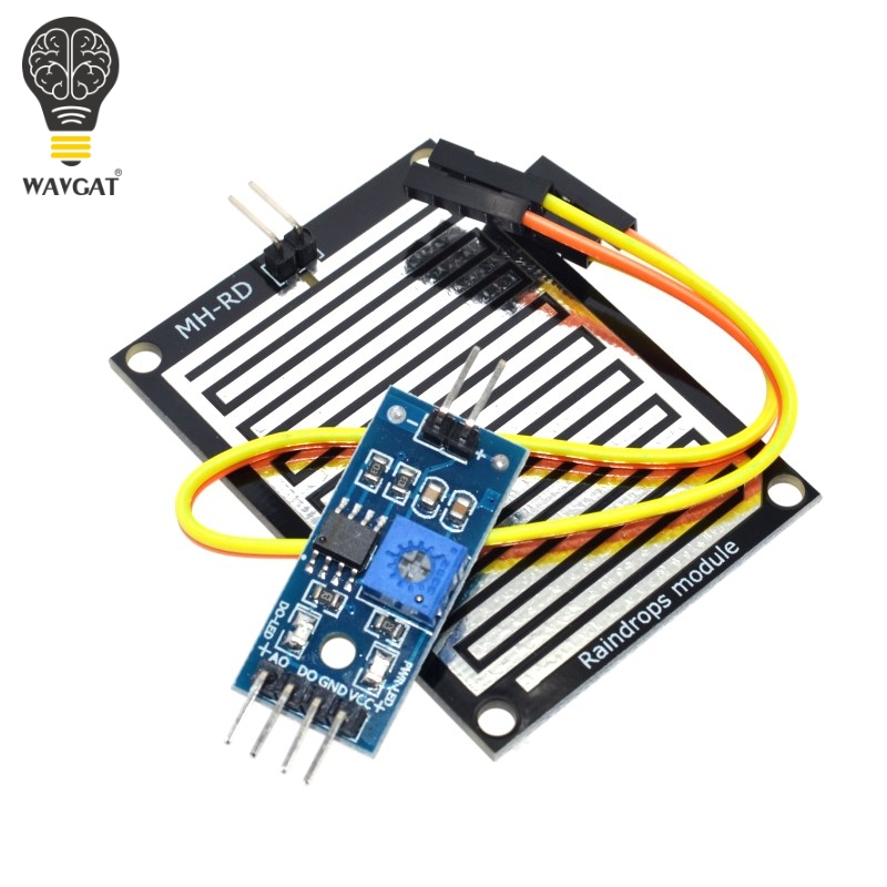 Snow / Raindrops Detection Sensor Module Rain Weather Module Humidity For ArduinoSnow / Raindrops Detection Sensor Module Rain Weather Module Humidity For Arduino