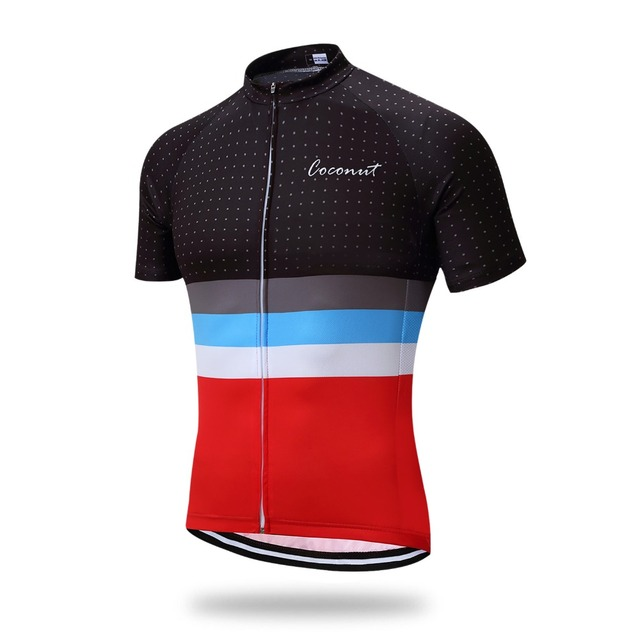 535722f01 Coconut Ropamo Men s Cycling Jersey Cycling Shirt Road Bike Jersey Racing Bicycle  Clothes Short Sleeves Maillot Ciclismo MTB