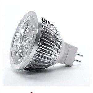 12 В Светодиодная лампа MR16 прожектор 3 Вт 4 Вт 5 Вт Высокая мощность Светодиодная лампа теплая/крутая Белая светодиодная лампа Бесплатная дост...