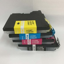 Vilaxh For Brother lc39 lc975 lc985 ink cartridge compatible for DCP-J125 J315W DCP-J515W MFC-J265W J410 printer