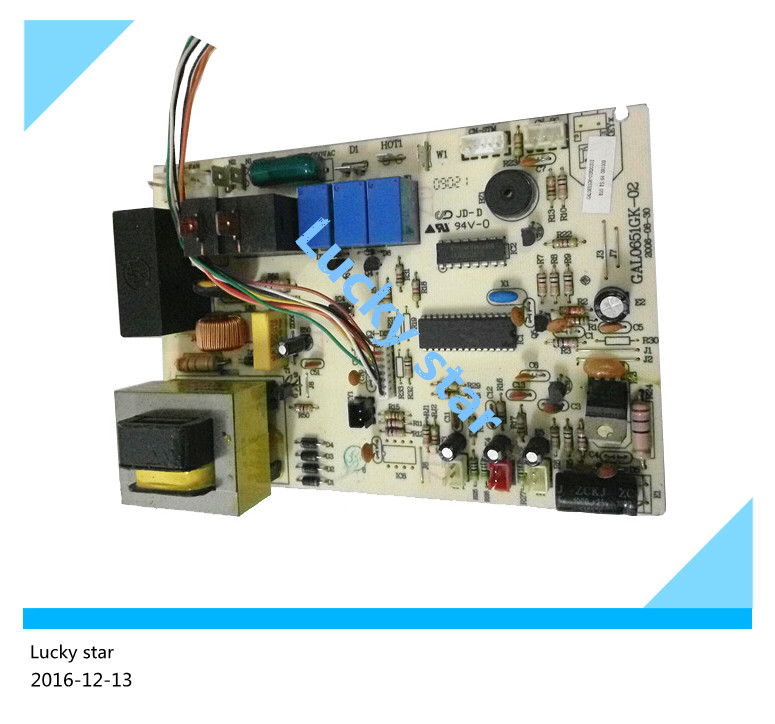 95% new & original for Galanz air conditioning Computer board control board GAL0651GK-02 good working 95% new for galanz air conditioning computer board gal0903gk 01 display panel gal0512gk 0102 set
