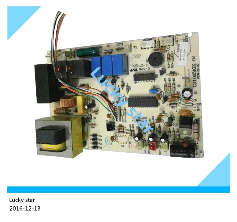 95% new & original for Galanz air conditioning Computer board control board GAL0651GK-02 good working холодильник galanz bcd 217t