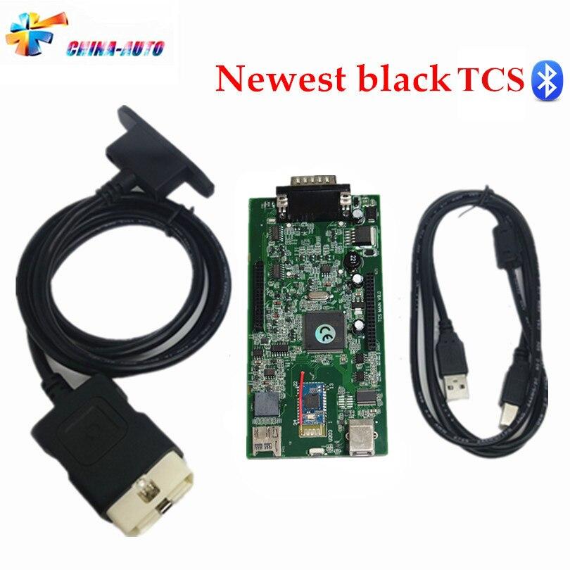 20 pièces Top Sellig noir TCS PRO avec outil de Diagnostic Bluetooth 2015 R3 OBDIICAT-150 PRO PLUS 1 an de garantie