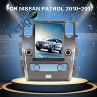 12.1 Inch Tesla Style Android 6.0 Car Radio GPS Navigation DVD Player for NISSAN PATROL 2010 2017 (Auto AC) Autostereo eadunit