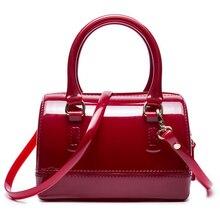 Frau Sommer Handtasche Marke Mode Silikon Zipfel Boutique Trage Candy Farbe Crossbody Taschen Casual Umhängetasche
