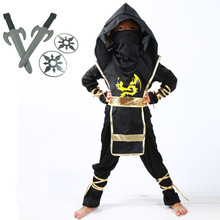 Ninja Ninjago Cosplay Costume Boys Clothes Sets Children Clothing Holiday Christmas Fancy Party Suits With Darts Dagger