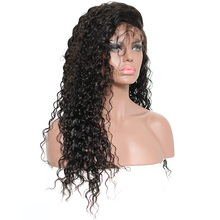 Glueless Pre Plucked Full Lace Human Hair Wigs Brazilian Curly 250% Density Full Lace  Wig With Baby Hair Honey Queen Remy