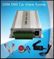Multi functional GSM Car Alarm System Remote Control Burglar Alarm System
