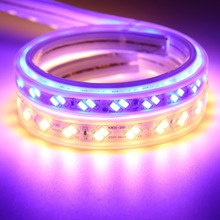 13mm wide LED Strip Light SMD5630 5730 silicone tube IP67 Waterproof led strip 220V 120 leds/m ribbon tape Warm White Blue IL