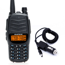 Baofeng UV-X9 Тройной 8 Вт/4 Вт/1 Вт мощный 2 PTT VHF/UHF Dual Band 2800 мАч Батарея Портативный Радио Walkie Talkie + автомобиля Зарядное устройство